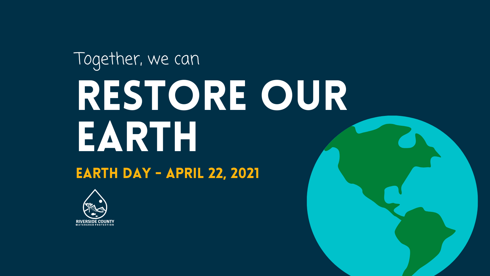 Help Restore Our Planet this Earth Day