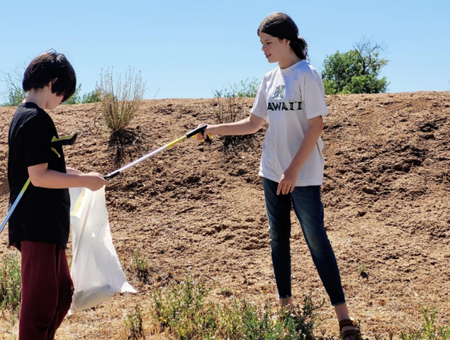 """Over 2,000 Pounds of Trash Removed by Volunteers """"Loving their Neighborhood"""""""
